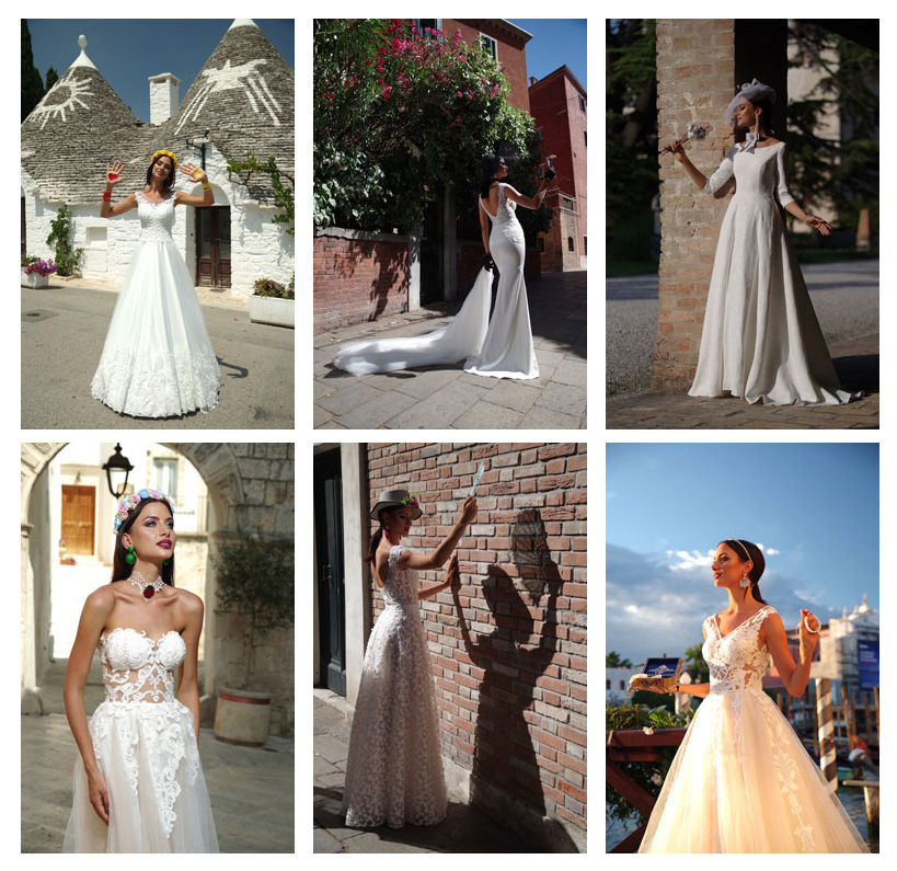 wedding dresses 2019, new bridal coolection by Hadassa