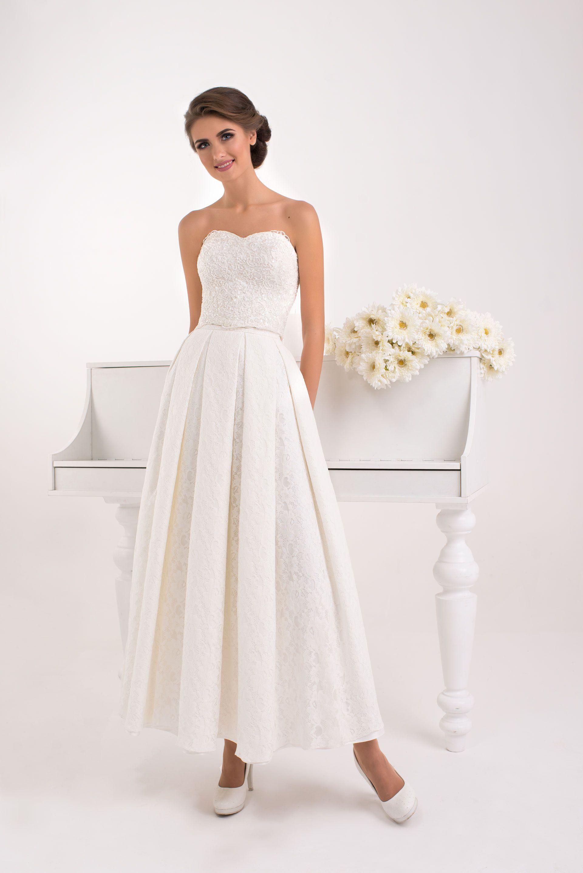 платье французской длины фото